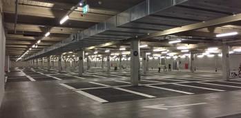 Parking P27 prêt à recevoir les utilisateurs