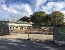 Cointrin 6 maisons : Fin du GO des 3 premières villas