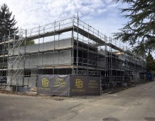 Thônex – 5 maisons : Gros-oeuvre terminé