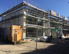Thônex – 5 maisons : Second-Oeuvre en pleine action