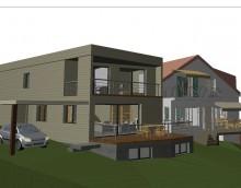 Troinex – 1 maison contiguë : Nouveau projet