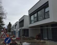 Thônex – 5 maisons : Finitions en cours