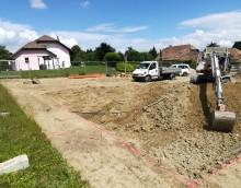 Cheserex – 2 maisons : Début des travaux
