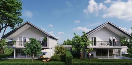Crans-Près-Céligny : 2 maisons