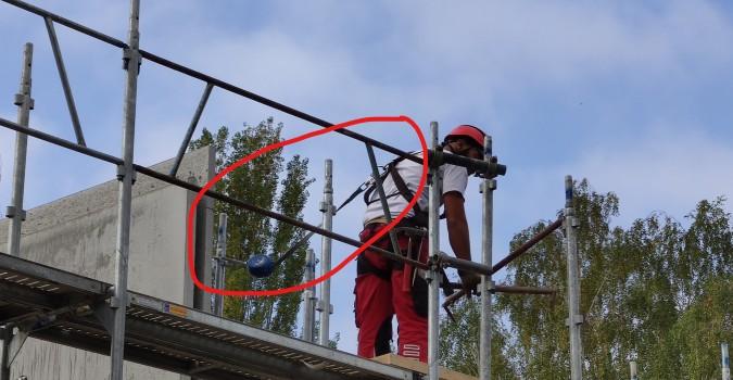 La sécurité des chantiers est importante